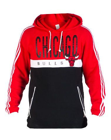 Adidas: CHICAGO BULLS COURT SERIES PULLOVER $59.99