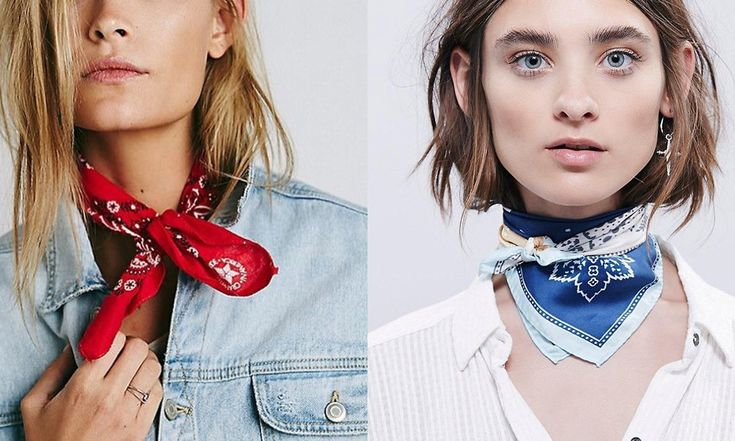That's right ladies, grab your wild rags and bandanas and add them to your town outfit, because this is the latest style trend! Bandana Accessories...