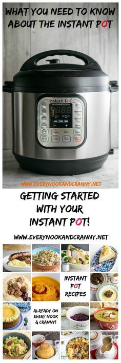 Did Santa put an Instant Pot under the Christmas tree for you this year? Or perhaps you bought yourself one in the Black Friday sale on Amazon last year when the price was the lowest it's ever been.  Whatever, Instant Pots are taking the world by storm and since last summer when Instant Pot UK kindly