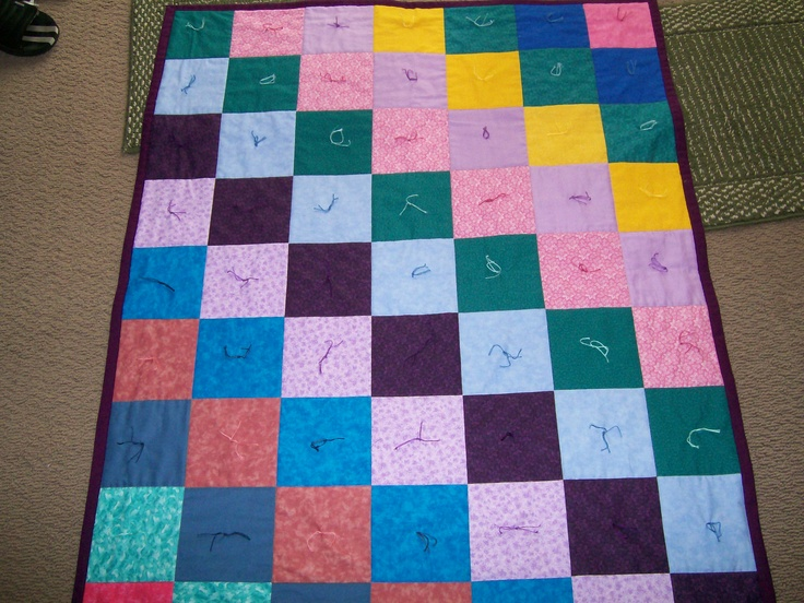 Quilt that I donated to church.Quilt, Church, Things, Donation