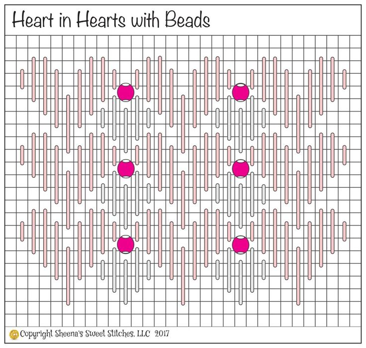 Hearts in March! - Sheena's Sweet Stitches