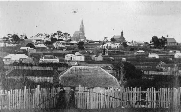 Hamilton, Victoria. Then & Now.
