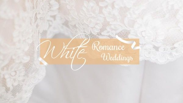 Want To Create A Professional Wedding Youtube Channel Art Try This Helpful Wedding Design And Make Your Cha White Wedding Ceremony Youtube Channel Art Wedding