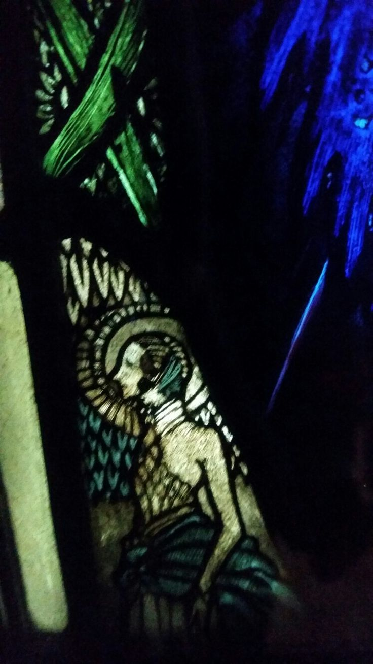 The Eve of St Agnes by Harry Clarke - Another dimension.