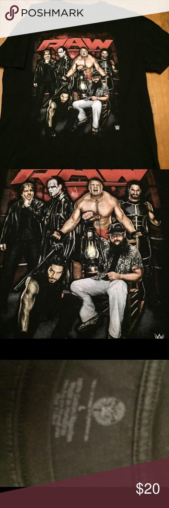 Retro WWE T shirt RAW is War Good condition WWE Shirts & Tops Tees - Short Sleeve