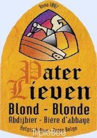 Label van Pater Lieven Blond