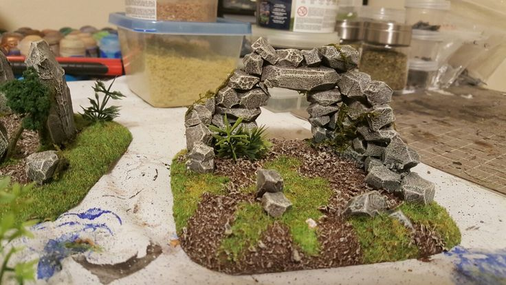 More Celtic Ruins. This time with a door.