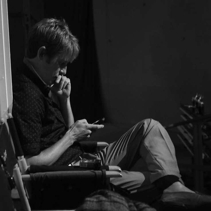 take-me-to-nolan-ross: Gabriel Mann on set... - Bravo! Nolan Ross
