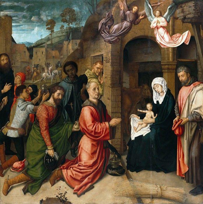 Гус, Хуго ван дер (ок1425-1482) - Поклонение волхвов.
