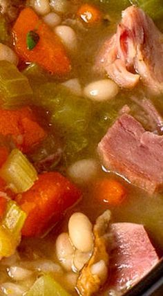 ... about Ham And Bean Soup on Pinterest | Ham And Beans, Soups and Hams
