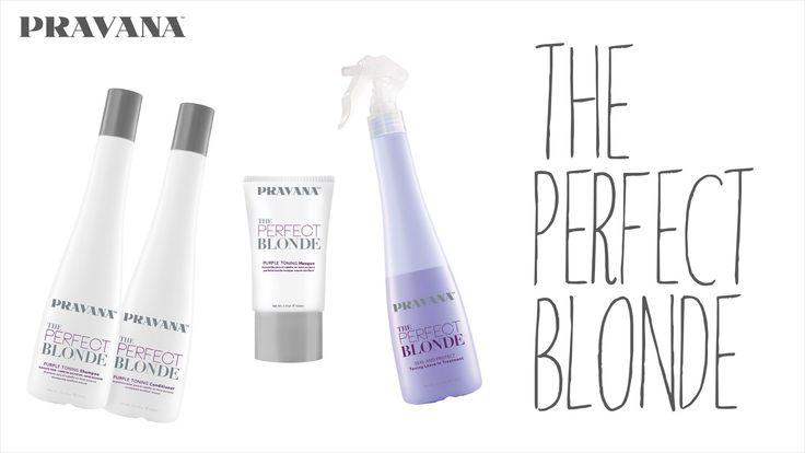 PRAVANA THE PERFECT BLONDE Purple Hair Toning Collection | Summer Series