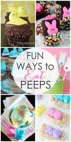 Fun Ways to Eat Peeps - The Girl Who Ate Everything