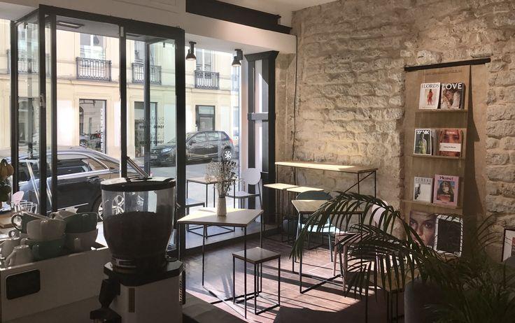 Paris store | Le Marais #TheSprezzatura #ParisStore #InteriorDesign #Interior #InteriorDesignIdeas #CoffeeShop #Placesparis #Pariscafe