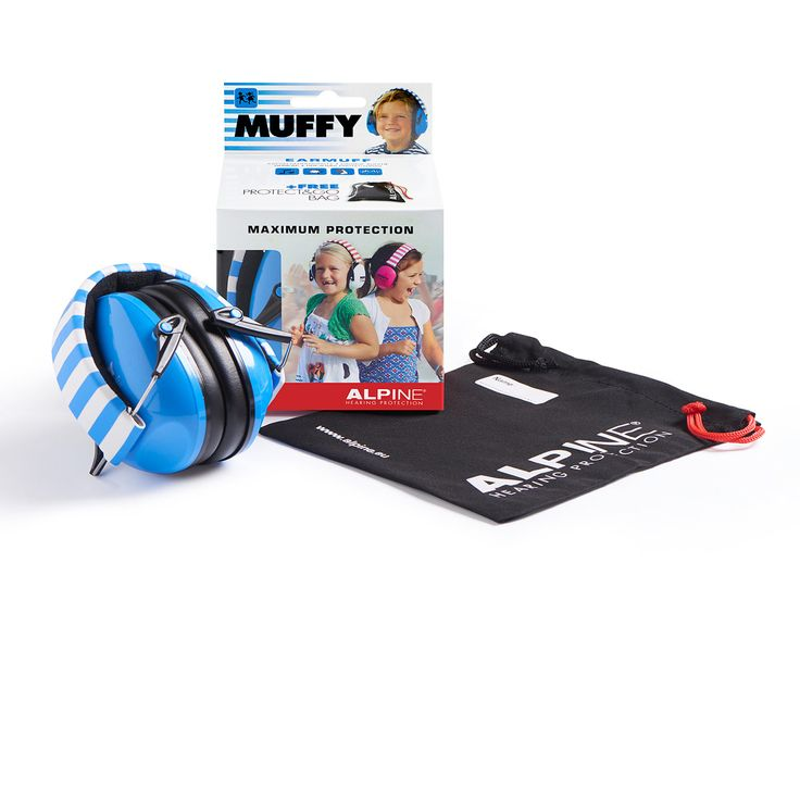 De Alpine Muffy oorkap is speciaal ontwikkeld voor de bescherming van kleine kinderoren en kan in veel lawaaiige situaties gebruikt worden, o.a. bij feesten, optochten, vuurwerk, auto- en motorraces en muziekconcerten.
