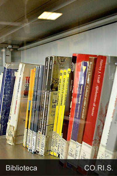 Uno scatto dalla biblioteca di Via Salaria 113