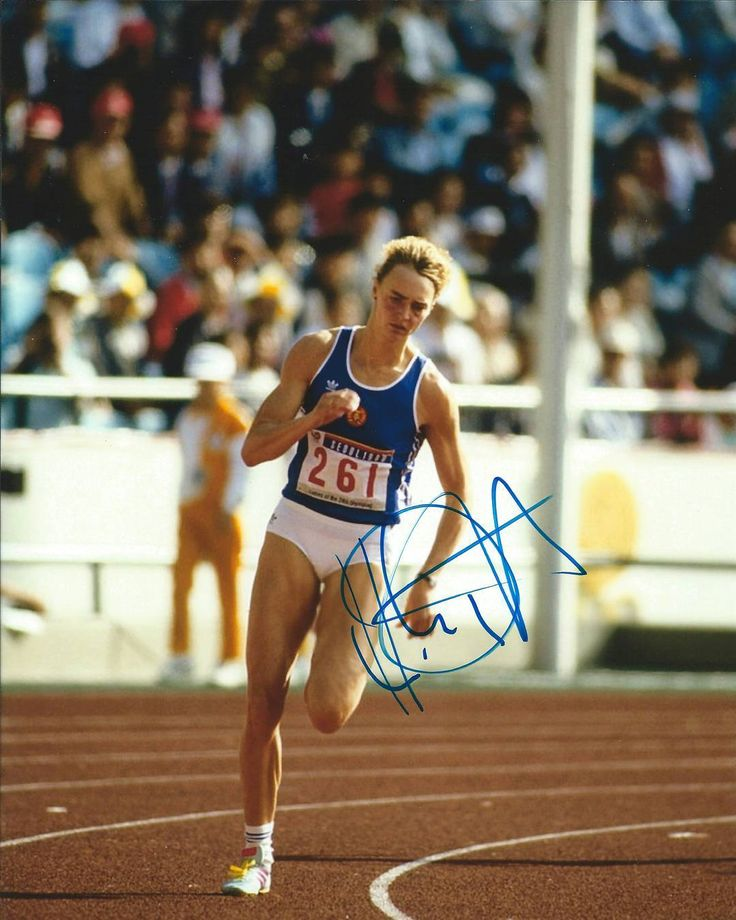. Heike Drechsler former East German and German sprinter and long jumper.  For…