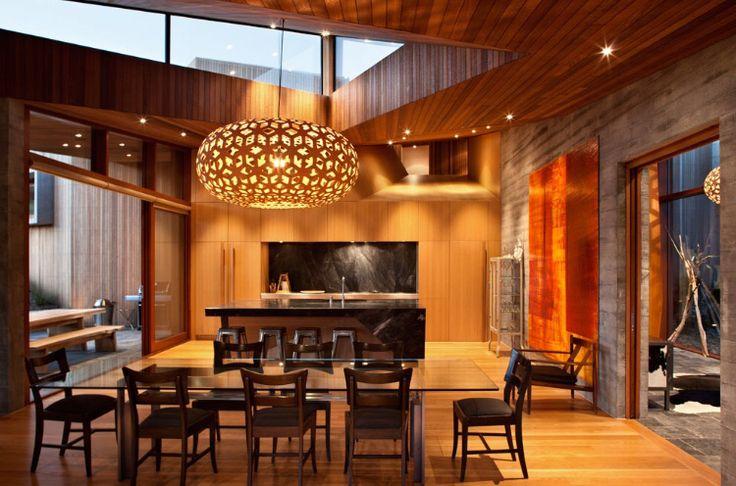 Wanaka house, South Island, New Zealand by Stevens Lawson Architects