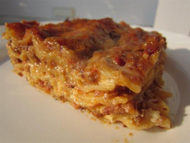 Bolognai lasagne receptje eredeti bolognai szósszal - Nemzeti ételek, receptek