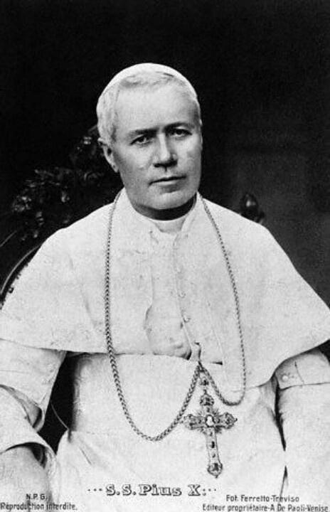 Pope Pius X 1914.