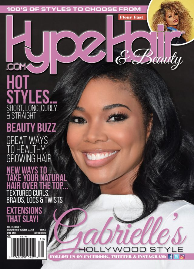 24 best hype hair magazine covers images on pinterest hype hair gabrielle union covers hype hairs october 2016 issue pmusecretfo Images