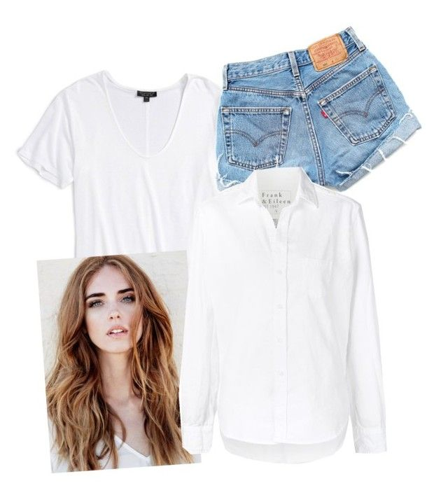 """""""for aileen 2"""" by agnisagynaika on Polyvore featuring Topshop, Levi's and Frank & Eileen"""
