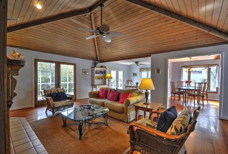 Wood plank hipvaulted ceiling  Get Creative in 2019