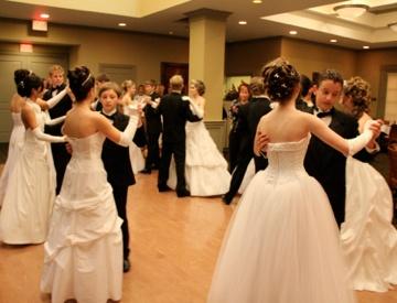 National League Of Junior Cotillions Debutante Wedding