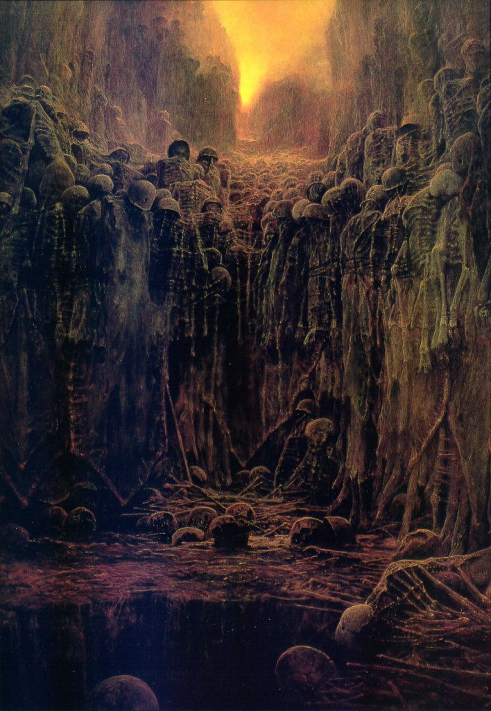 Alien Lightseed…Zdzisław Beksiński