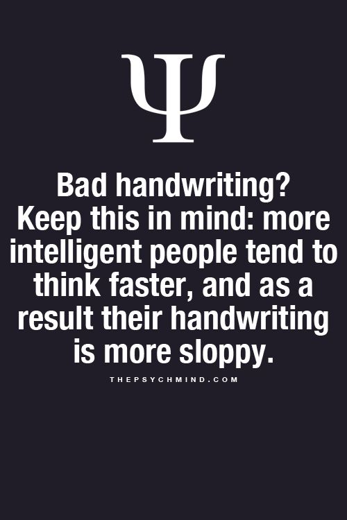 What Your Handwriting Says About Your Intelligence