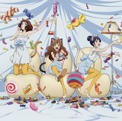 Samurai Flamenco ~~ The Girls in Cat Ears with Candy :: ED animation