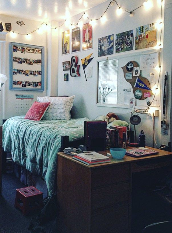 The George Washington University has some amazingly decorated dorm rooms!