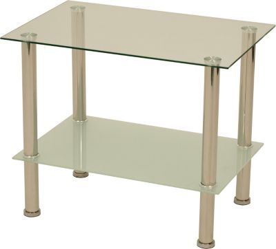 Couchtisch / Beistelltisch QUEENS 60x40x50cm, Edelstahl + Glas Jetzt  Bestellen Unter: ...