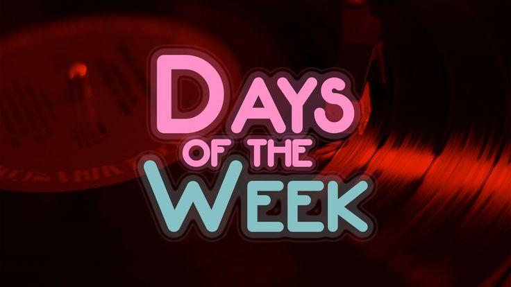 """Les jours de la semaine en anglais et leur prononciation. Retrouvez l'audio, la transcription phonétique et 7 Phonograph™ – y compris pour """"Wednesday""""!"""