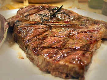 Bistecca alla Fiorentina, the grilled steak of Tuscany - how to select the steak, how to cook it, how to eat it. http://www.chianti.info/bisteccaallafiorentina.htm