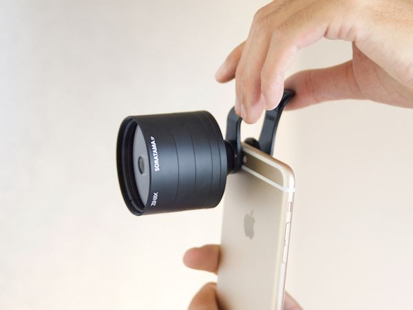 Shoot soratama pictures with your smartphone