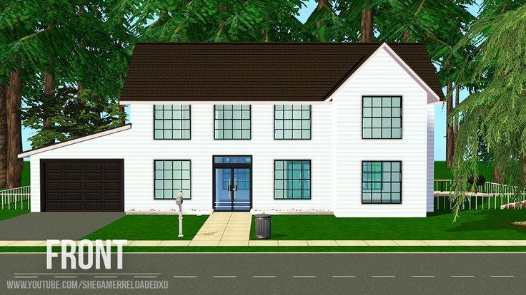 Mod The Sims - Maxis Makeover - Ranch Retreat - No CC