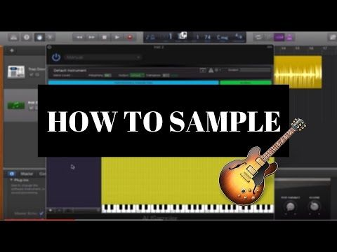 How To Sample in GarageBand 2016 - YouTube