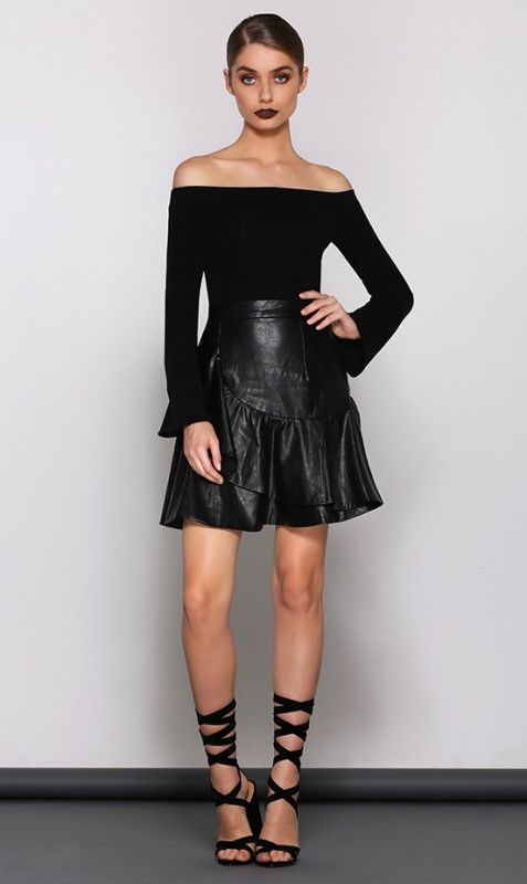 Runaway The Label - Stacey Skirt – Black