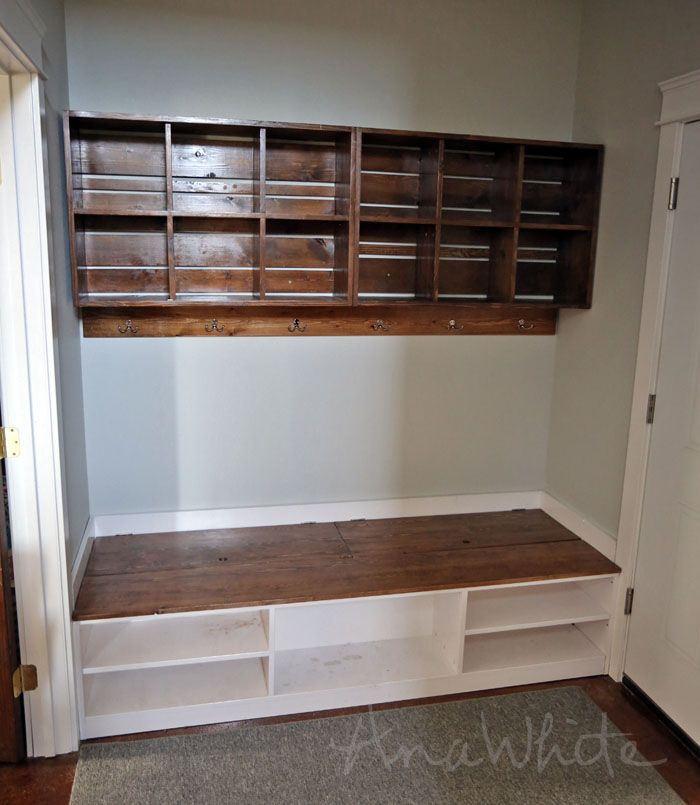 Wall Cubby Crate Shelves