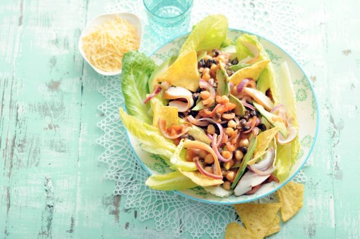 24 juni - Avocado in de bonus - Bonensalade met kip en avocado - Recept - Allerhande