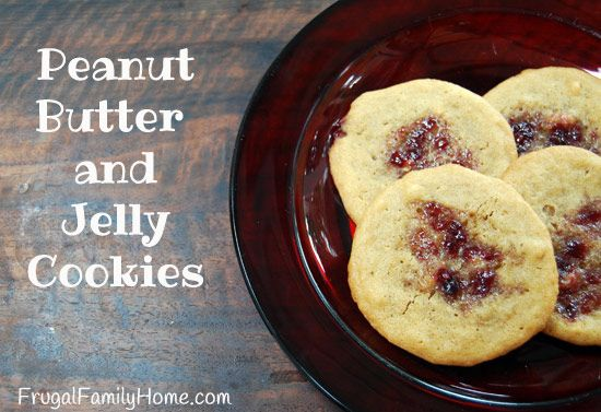 Peanut Butter and Jelly Cookies, come see how easy they are to make.