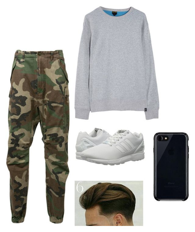 """""""Sexy Boi"""" by parvanitagis on Polyvore featuring R13, Roamers & Seekers, adidas Originals, Belkin, men's fashion and menswear"""