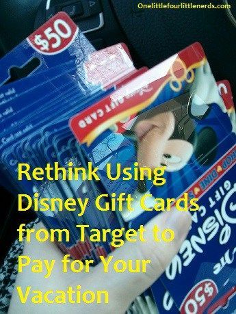 Discount Disney gift cards to pay for a WDW trip? maybe, maybe not! Make sure to weigh the pros & cons before you buy