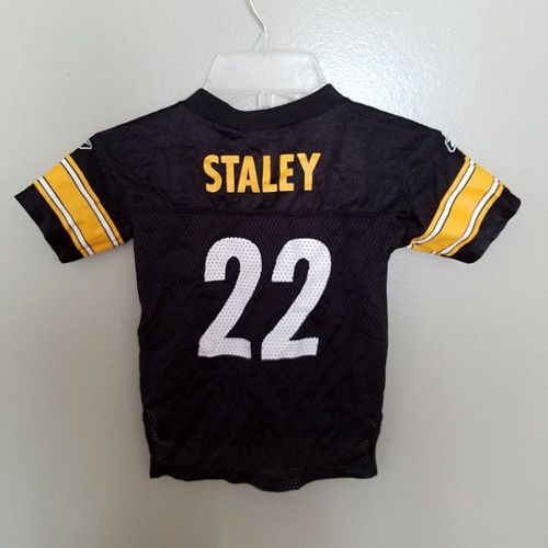 PITTSBURGH STEELERS DUCE STALEY FOOTBALL JERSEY SIZE 2T TODDLER