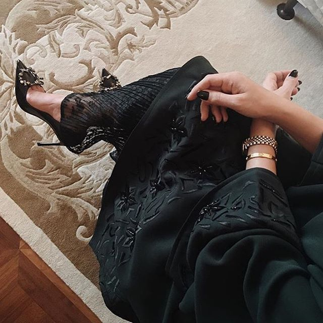 IG: Wow4Abayas || IG: BeautiifulinBlack || Abaya Fashion ||