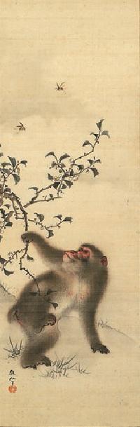 MORI Sosen (1747-1821), Japan 森狙仙