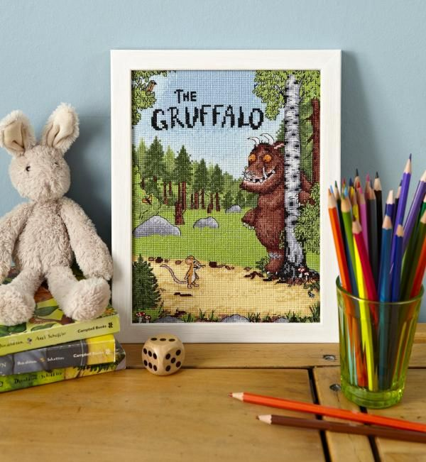 The Gruffalo  CrossStitcher  Issue 264 April 2013 Saved