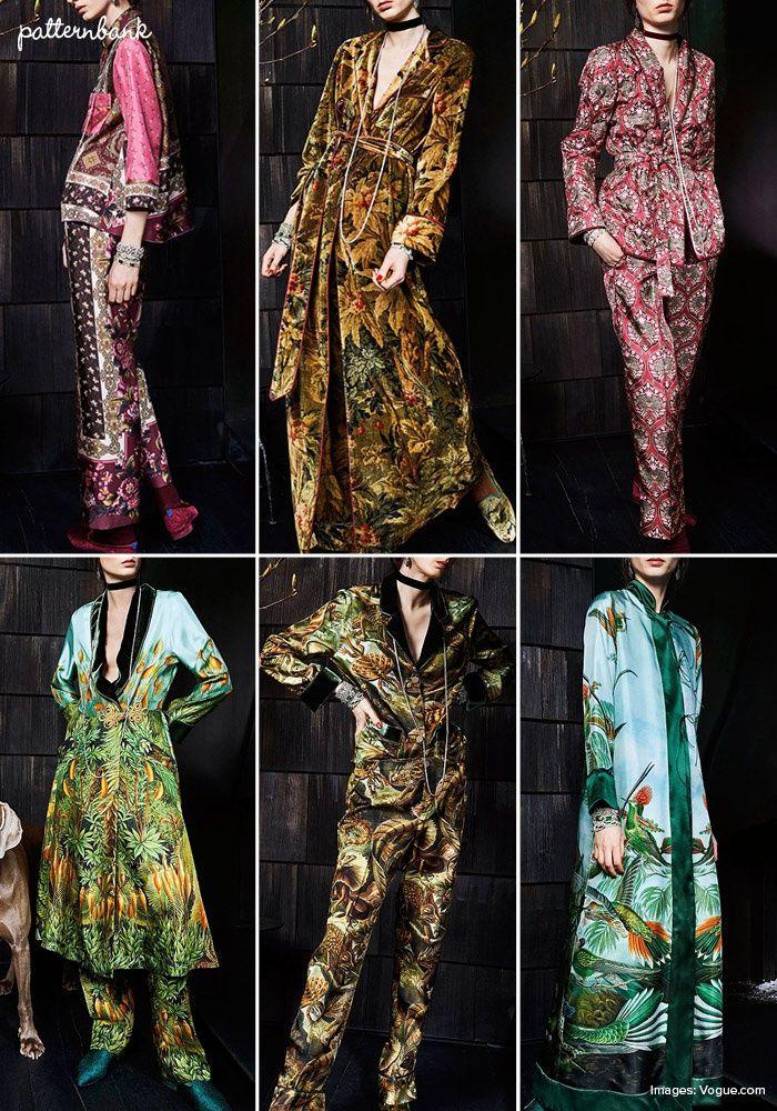 For Restless Sleepers – Fall 2017 – RTW – Milan Fashion Week – Print & Pattern Highlight | Patternbank