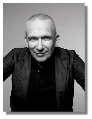 JEAN PAUL GAULTIER, French designer Jean Paul Gaultier (b.1952). Haute couture fashion designer. Gaultier was the creative director of Hermès from 2003 to 2010. His first individual collection was released in 1976 and his characteristic irreverent style dates from 1981, and he has long been known as the enfant terrible of French fashion. Designed the infamous cone bra for Madonna's 1990 Blond Ambition Tour.