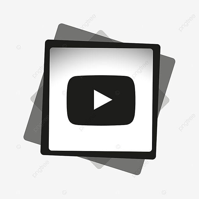 Icone Youtube Noir Blanc Icones Youtube Icones Noire Icones Blanches Png Et Vecteur Pour Telechargement Gratuit Logo Youtube Fond D Ecran Telephone Icone Png